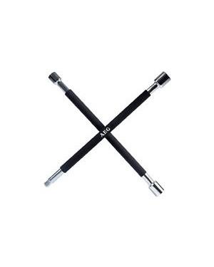 """Μπουλονόκλειδο σταυρός αυτοκινήτου 17,19,21,1/2"""" mm AEG(005040)"""