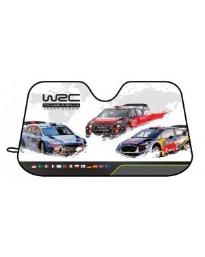 """Μπροστινό σκίαστρο """"race"""" Large WRC 130X70cm(007202)"""