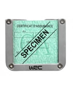 Τετράγωνη θήκη για σήμα ασφάλειας αυτοκινήτου WRC(007378)