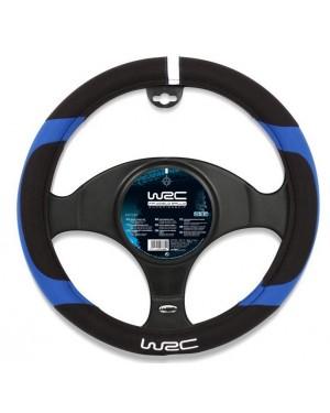 Μαύρο-μπλέ κάλυμμα τιμονιού WRC(007384)