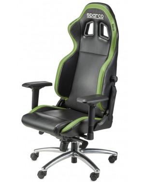 Καρέκλα Gaming Sparco R100S Μαύρη/Πράσινη (00975NRVD)