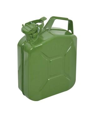 Δοχείο καυσίμων μεταλλικό πράσινο 5L CARPOINT (0110013)
