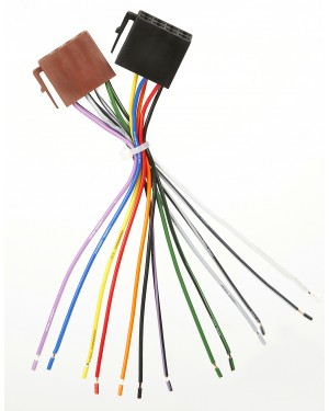 ISO CABLE FOR CAR RADIO UNIVERSAL ΣΥΝΔΕΣΗ ΡΑΔΙΟΦΩΝΟΥ ΑΥΤΟΚΙΝΗΤΟΥ ISO UNIVERSAL WRC (007573)