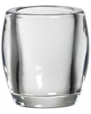 Διάφανο Γυάλινο Κηροπήγιο για Ρεσώ 77/72mm Bolsius (103684260300)