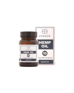 Hemp Oil 300mg CBD Medium 30 κάψουλες (SoftGel) ENDOCA (1102)