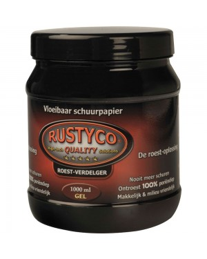 Καθαριστικό σκουριάς μετάλλων - Αντισκωριακό Gel 1 Λίτρο Rustyco (2024)