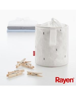 Θήκη για μανταλάκια canvas 18 x ⌀15 cm Rayen (2386.01)
