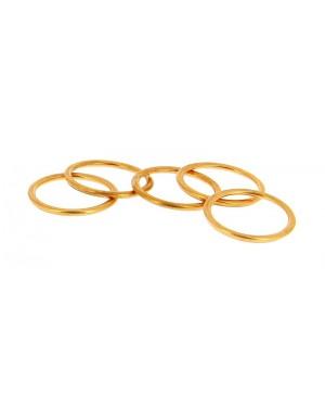 5 Ροδέλες τάπας κάρτερ για αλλαγή λαδιών Δ22mm για ALFA ROMEO/FIAT XLTECH (300020)
