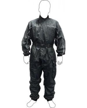 Αδιάβροχη στολή για αναβάτες μοτοσυκλέτας μαύρη type 2 Motor X (4290610)