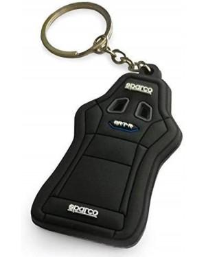 Μπρελόκ κάθισμα αγωνιστικού αυτοκινήτου μαύρο Sparco (099071SEAT10)