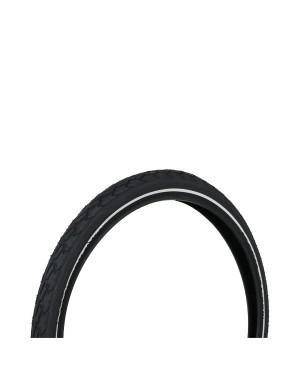 """Λάστιχο ποδηλάτου με ανακλαστική λωρίδα 20""""x1,75 (47-406) DRESCO (5250463)"""