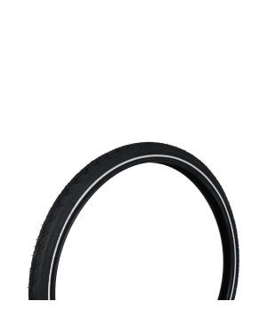 """Λάστιχο ποδηλάτου με ανακλαστική λωρίδα 24""""x1,75 (47-507) DRESCO (5250466)"""