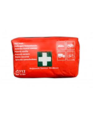 Φαρμακείο πρώτων βοηθειών αυτοκινήτου πιστοποιημένο DIN 13164(5546)