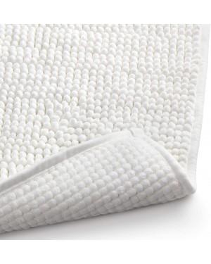 Πατάκι μπάνιου λευκό 100% μικροϊνών 80x50cm Rayen (6325.01)