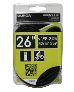ΣΑΜΠΡΕΛΑ ποδηλάτου μεγάλη βαλβίδα 26'' x 1,90/2,125 DURCA (802720)