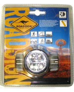 Φακός κεφαλής με LED ROADSIGN (850062)