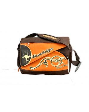 Σχολική Τσάντα Ωμου με Θήκη Laptop ROADSIGN (853107)