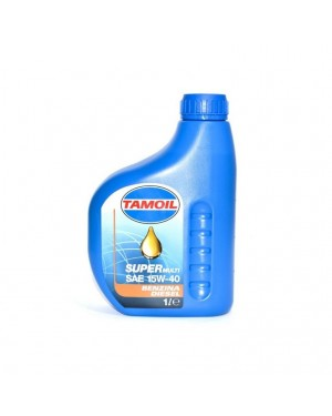 TAMOIL SUPER MULTI SAE 15W-40 για βενζινοκινητήρες και πετρελαιοκινητήρες 1L(9563)