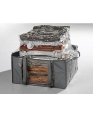 Αδιάβροχη θήκη αποθηκευσης για ρούχα,παπλώματα, μαξιλάρια κήπου 50Χ50Χ25, 168 L COMPACTOR.(RAN4366)