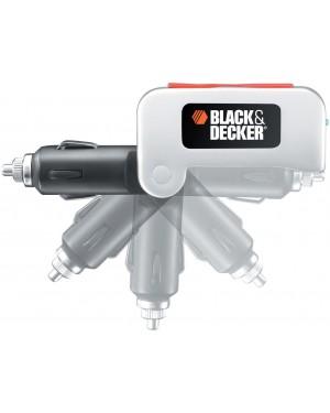 Φορτιστής αυτοκινήτου αντάπτορας αναπτήρα σε 2 USB BLACK AND DECKER (BDPC10USB-XJ)