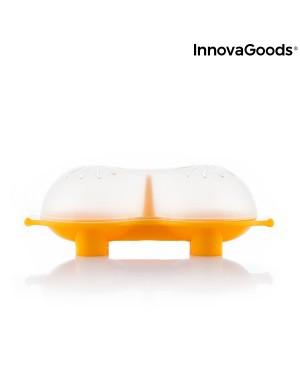 Διπλή συσκευή σιλικόνης για βραστά αυγά Oovi InnovaGoods (V0103050)