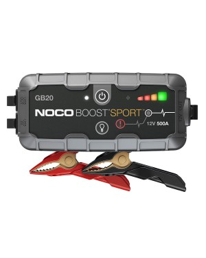 NOCO εκκινητής-booster μπαταρίας GB20 BOOST SPORT Ultrasafe Lithium 500A (0180001)