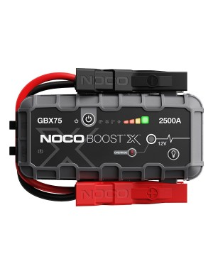 NOCO εκκινητής-booster μπαταρίας GBX75 BoostX Ultrasafe Lithium 2500A (0180020)