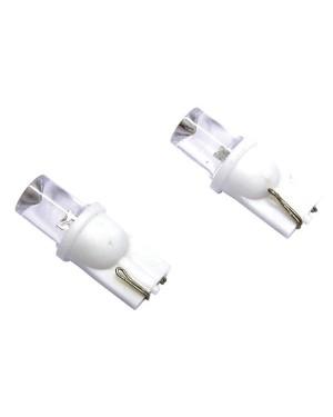 2 ΛΑΜΠΕΣ Τ10 5W LED ΑΣΠΡΟ ΧΡΩΜΑ - CARPOINT (0740010)
