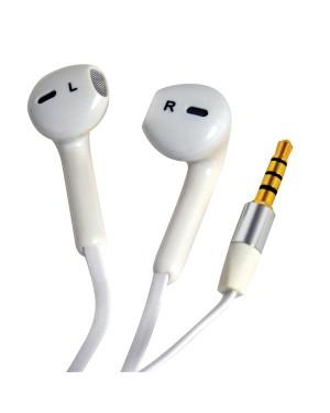 Smartphone Handsfree Earphones White CARPOINT(0517004)