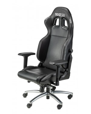 Καρέκλα Gaming Sparco R100S Μαύρη (00975NRNR)