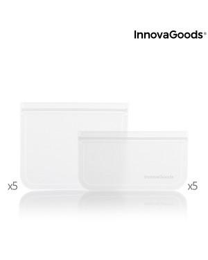 Επαναχρησιμοποιούμενες σακούλες για τρόφιμα σετ 10 τμχ Freco InnovaGoods (V0103074)
