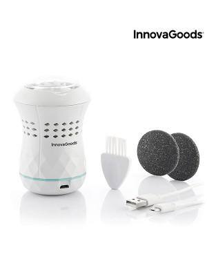 Επαναφορτιζόμενη λίμα πεντικιούρ με ενσωματωμένο αναρροφητήρα Sofeem InnovaGoods (V0103225)