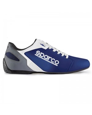 SPARCO SL-17 LEISURE SNEAKERS ΜΠΛΕ/ΛΕΥΚΟ NO42 (00126342AZBI)