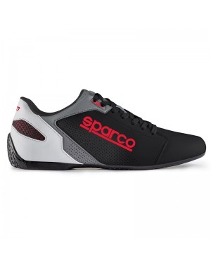 SPARCO SL-17 LEISURE SNEAKERS ΜΑΥΡΟ/ΚΟΚΚΙΝΟ (001263NRRS)