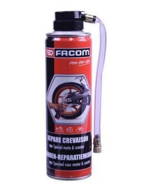 Επισκευή ελαστικού σπρέι για Moto 250ml Facom (006091)
