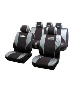 Σετ 9 τεμαχίων καλύμματα καθισμάτων τύπου ράλυ WRC (007339)