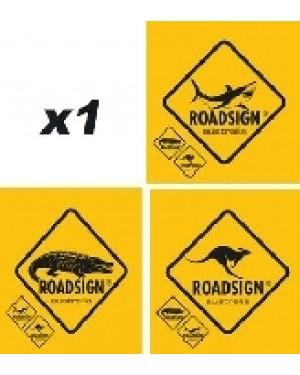 Αυτοκόλλητο διακοσμητικό ROADSIGN (009745)