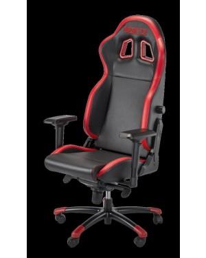 Καρέκλα Gaming Sparco R100S Μαύρη/Κόκκινη (00976NRRS)