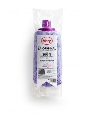 Σφουγγαρίστρα 100% μικροϊνών μωβ La Original Mery (0422.42)