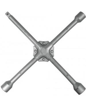 """Μπουλονόκλειδο σταυρός αυτοκινήτου ενισχυμένος 17,19,21mm,1/2""""=12,7mm CARPOINT DIN 899(0627003)"""