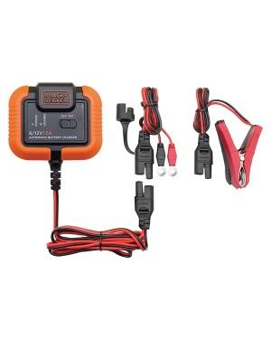 Φορτιστής-συντηρητής μπαταρίας 1.5A 6 και 12V BLACK AND DECKER BXAE00021 (0690108)