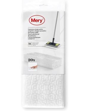 Ανταλλακτικά πανάκια καθαρισμού 29.5x21.5cm 20 τεμάχια Mery (0956.01)