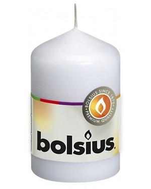 Λευκό Κερί Κύλινδρος 80/48mm 16 Ωρών Bolsius (103613200102)