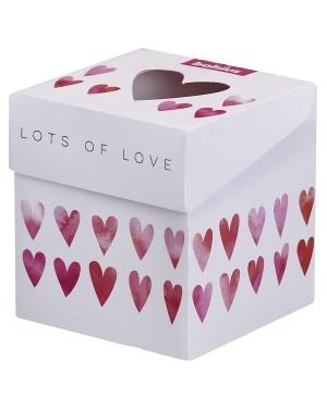 """ΑΡΩΜΑΤΙΚΟ ΚΕΡΙ ΣΕ ΒΑΖΟ ROSE/PINK """"LOTS OF LOVE"""" BOLSIUS (103625430449)"""