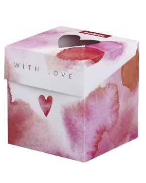 """ΑΡΩΜΑΤΙΚΟ ΚΕΡΙ ΣΕ ΒΑΖΟ ROSE/RED """"WITH LOVE"""" BOLSIUS (103625430481)"""