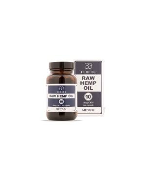 Raw Hemp Oil 300mg CBD+CBDa Medium 30 κάψουλες (SoftGel) ENDOCA (1101)