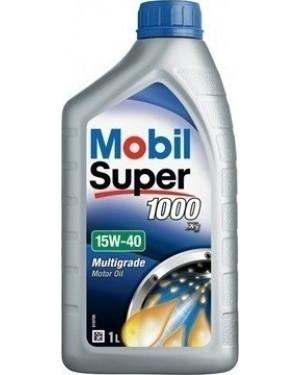 MOBIL ΛΑΔΙ SUPER 1000 X1 15W-40 1LT ΓΙΑ ΒΕΝΖΙΝΟΚΙΝΗΤΗΡΕΣ- MOBIL (4733)