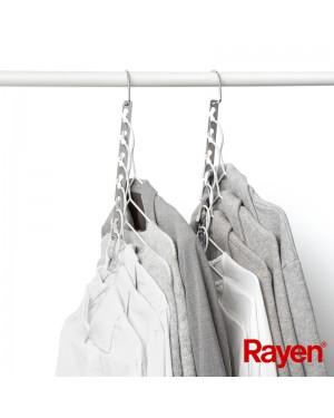 Κρεμάστρα ντουλάπας πολλαπλών θέσεων αναδιπλούμενη 4 τμχ. Rayen (2018.01)