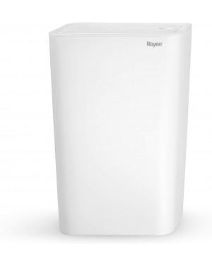 Καλάθι μπάνιου 9L λευκό 22x15.5x33cm Rayen (2098)