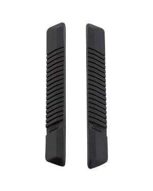 Προστατευτικό πόρτας αυτοκινήτου μαύρο 2 τεμάχια 11cm CARPOINT (2237815)